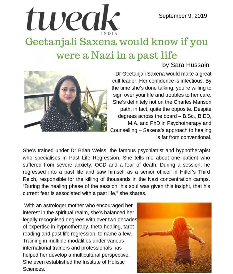 Tweak article | News